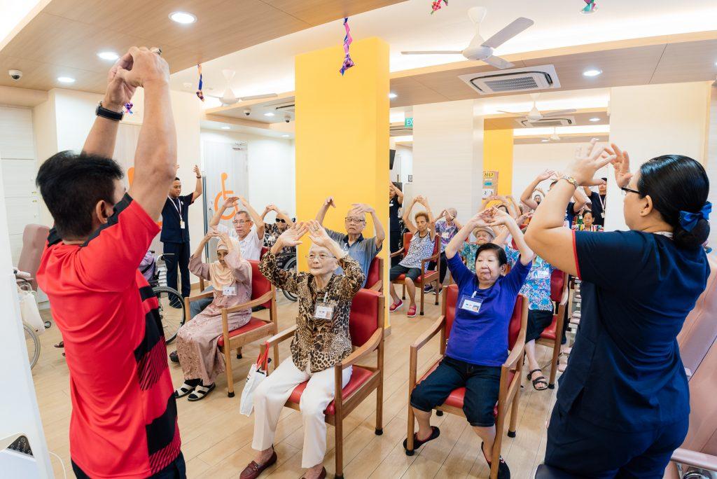 Elderly care centre
