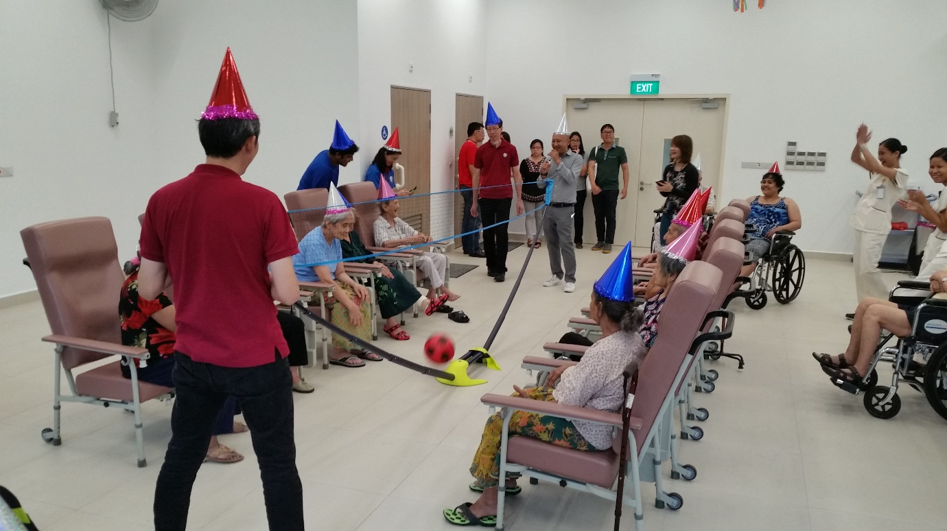 Volunteer programme Singapore